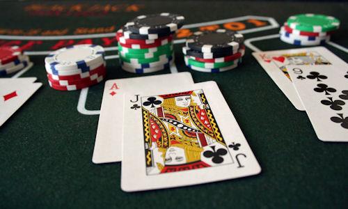 Блекджек казино игра